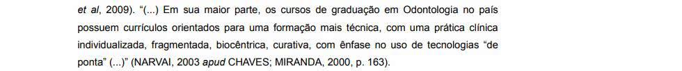 exemplo de citação APUD